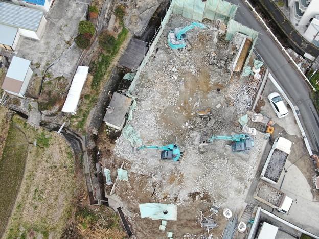 旧高田邸解体2020