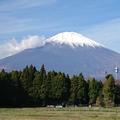 写真: きょうの富士山(静岡)