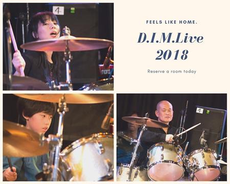D.I.M.Live 2018