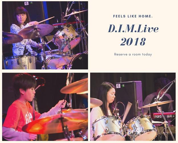 写真: D.I.M.Live2018(4)