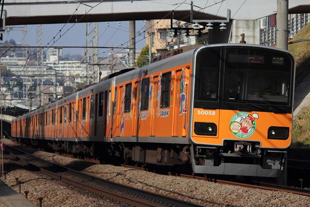 東武50050系 クレヨンしんちゃんラッピング