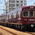 Photos: 阪急3000系C#3054×4R