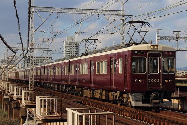 阪急7000系7003F(C#7003×8R)