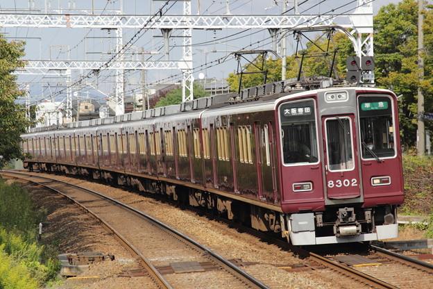 阪急8300系8302F(C#8302×8R)