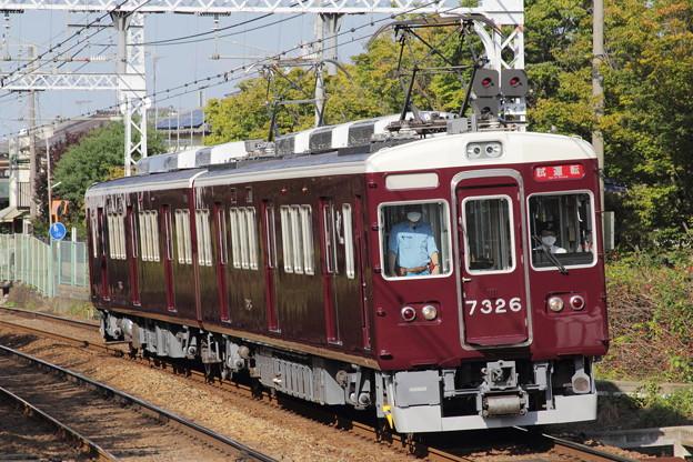 阪急7300系7326F(#7326×2R)