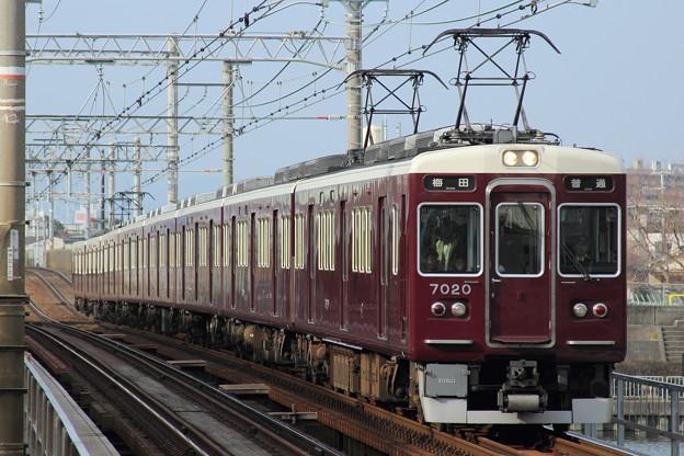 阪急7000系7020F(C#7020×8R)