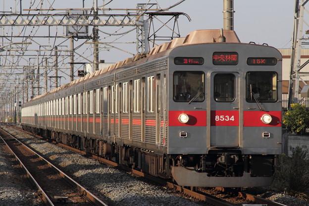 Photos: 東急8500系8634F