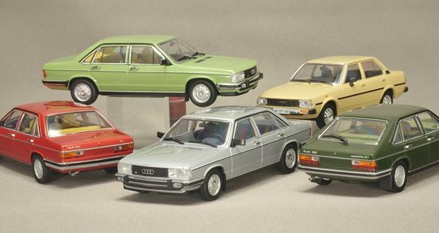MINICHAMPS 1/43スケールミニカー Audi 100 1979 、他