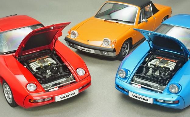 AUTOart 1/18 Porsche 928 & 914
