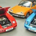 写真: AUTOart 1/18 Porsche 928 & 914