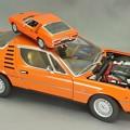 写真: AUTOart 1/18 AlfaRomeo Montreal 1970 & Minichamps 1/43 Montreal