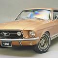 写真: AUTOart 1/18 Ford Mustang 1967