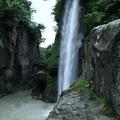 Photos: 綿ヶ滝 レンズに滴が