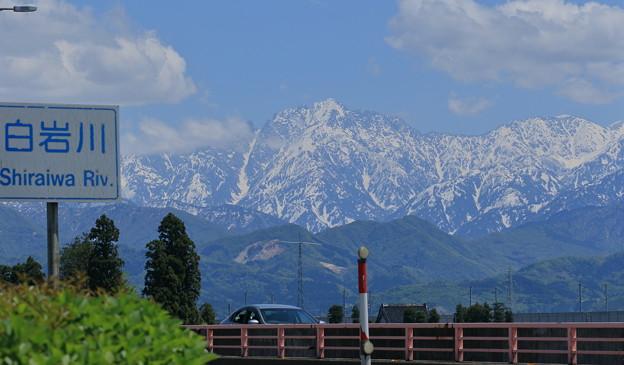 白岩川 剱岳