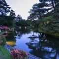 兼六園 霞ヶ池と蓬莱島