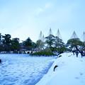 大雪後の兼六園