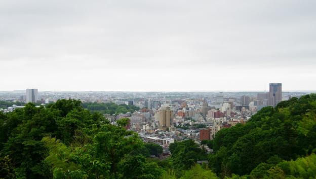 金沢市 卯辰山から街並み