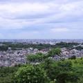 Photos: 中央の緑は兼六園