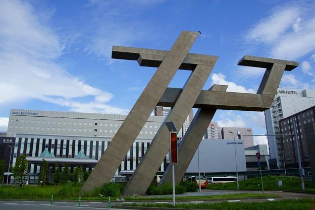 金沢駅西(金沢港口) モニュメント