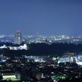 写真: 金沢市の街並みと夜景(2) 金沢城