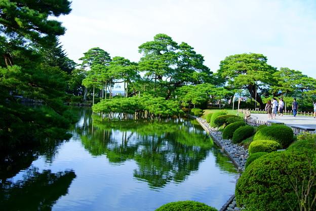 霞が池と唐崎松