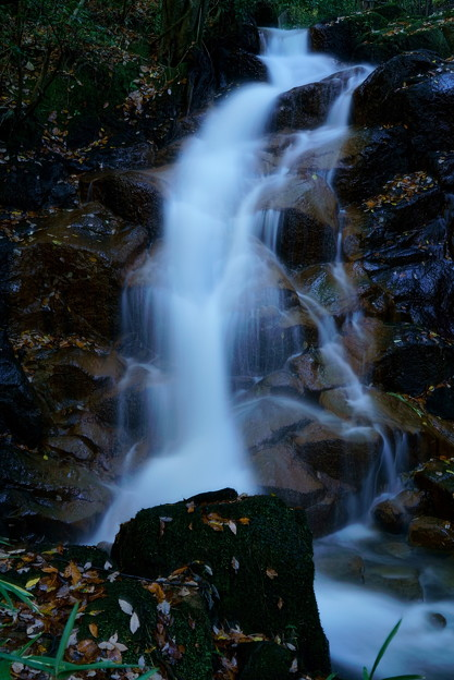 七つ滝 1の滝の左