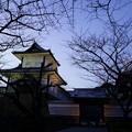 Photos: 夕暮れの石川門