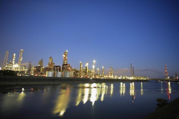 四日市市 工場夜景