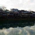 金沢 夕暮れの主計町茶屋街(1)