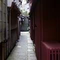 写真: あかり坂  主計町茶屋街(かずえまち)