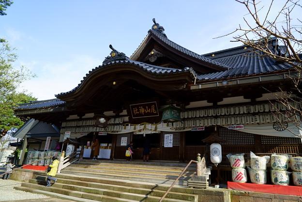 尾山神社 拝殿