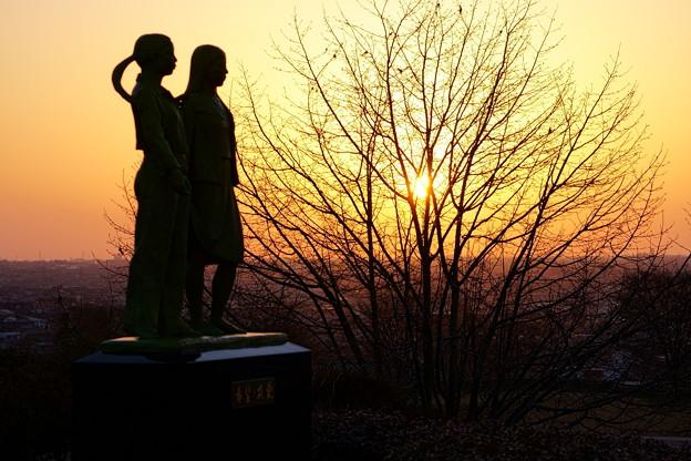 彫刻の丘 希望・友愛