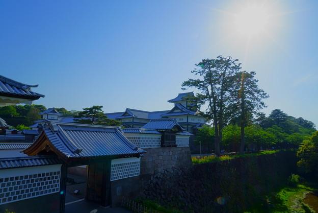 河北門と金沢城