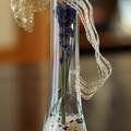 Photos: ラベンダーのドライフラワーを花瓶に