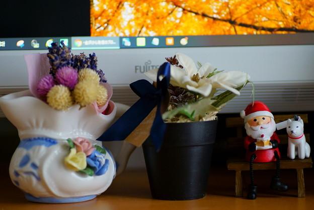 パソコン前のクリスマス(2)