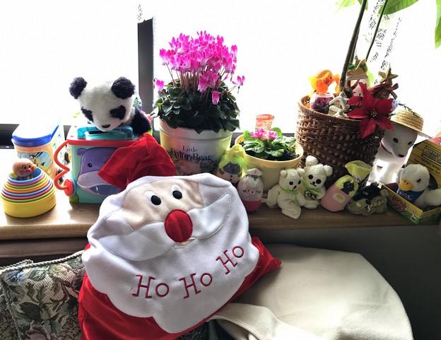 サンタさんのプレゼント袋