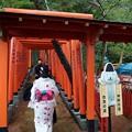 Photos: 石浦神社 101基の鳥居