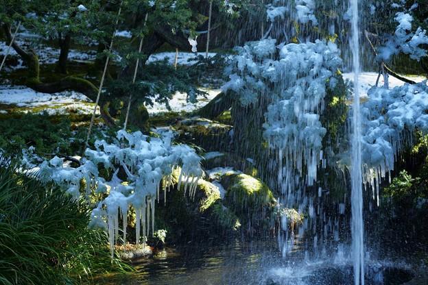 ツララと噴水(3)