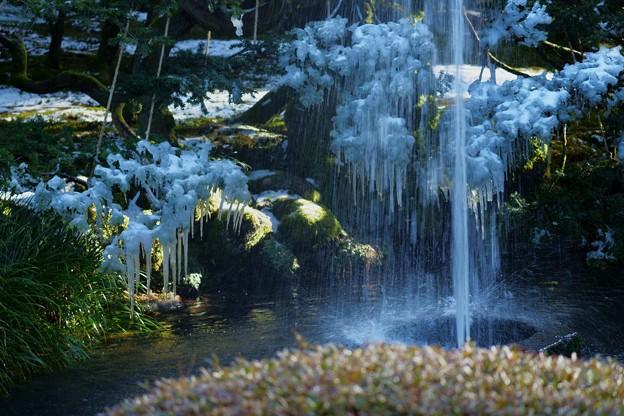 ツララと噴水(4)
