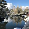 雪の兼六園