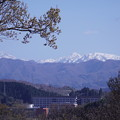 山並み  大門山(加賀富士) 見越山 大笠山 奥三方岩(右)?