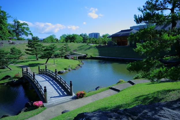 新緑の玉泉院丸庭園(2)