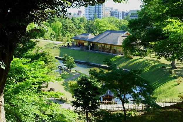玉泉院丸庭園 玉泉庵(休憩所)