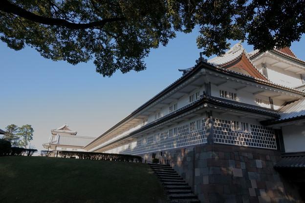 金沢城 菱櫓と橋爪門続櫓