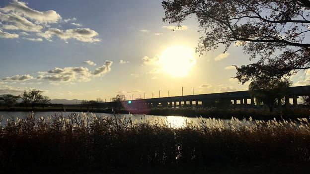 北陸新幹線 高架橋