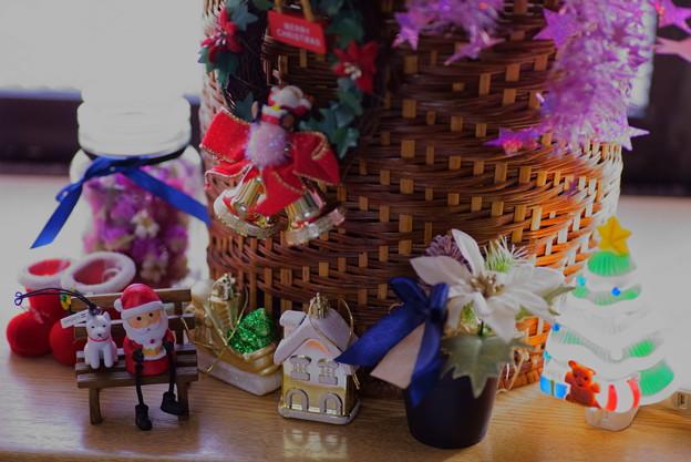 クリスマスのオーナメント