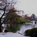 兼六園 雪と紅葉