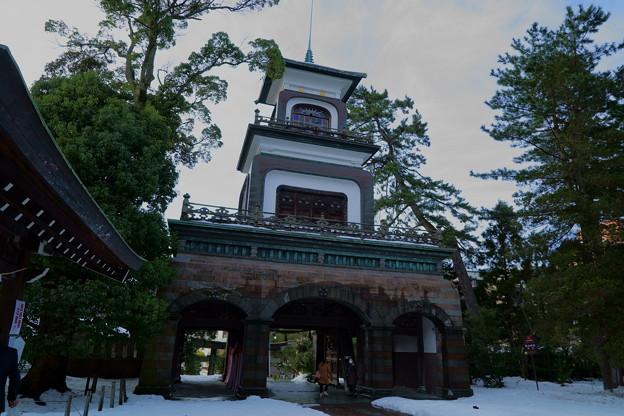 尾山神社 神門 (2)