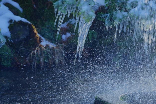ツララと噴水(2)