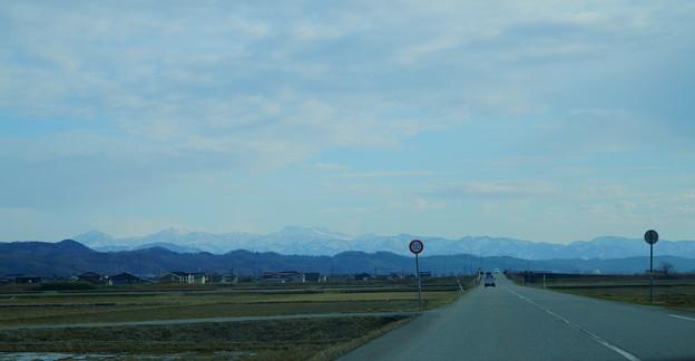 白山と山並み